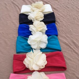 Other - ($15 each) Baby Girl Headbands Hair Accessories